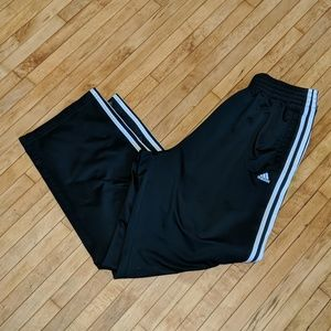 Official Adidas 3 Stripe Tearaway Snap Pants